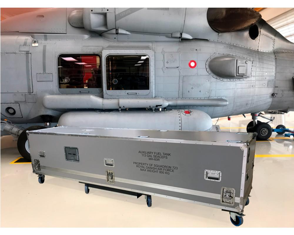 Custom Made Flightcase for the Danish Armed Forces