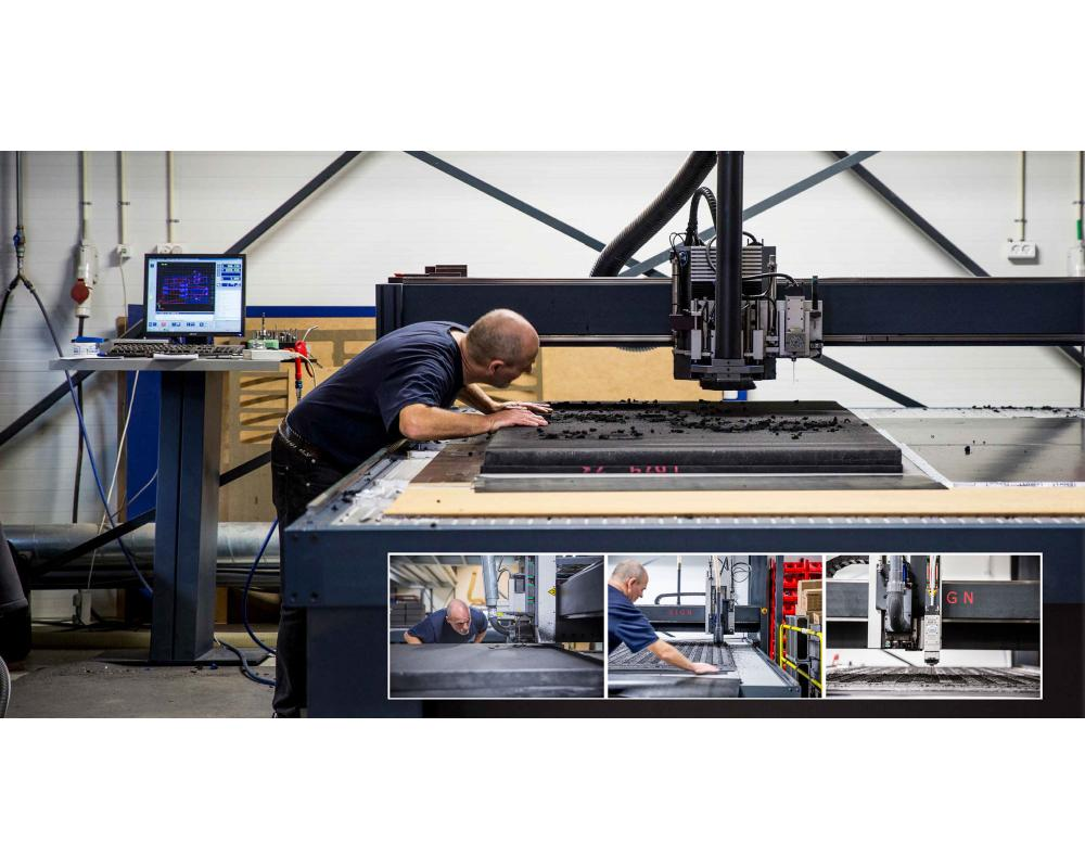 Flightcases International expands Manufacturing Capacity with New CNC combined milling and knife cutter