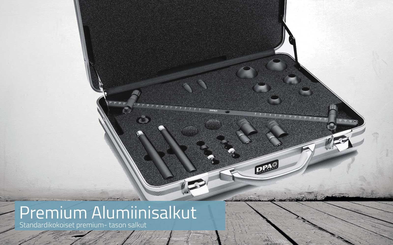 Premium Alumiinisalkut  Standardikokoiset premium- tason salkut