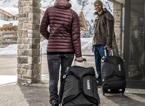 Ensiluokkaiset matkalaukut